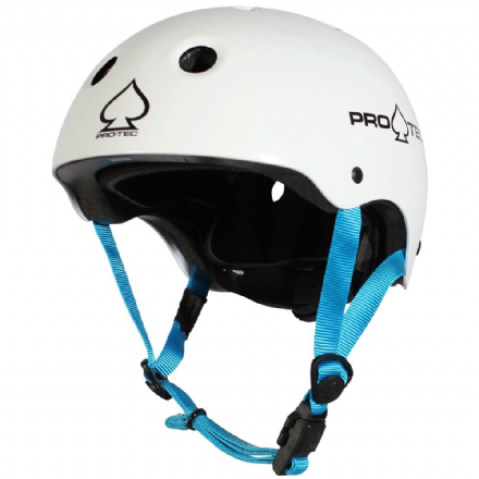 Pro-Tec JR Classic Fit Certified Helmet Gloss White Small